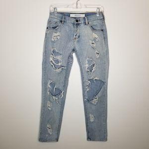 Brandy Melville Destroyed Boyfriend Jeans 24